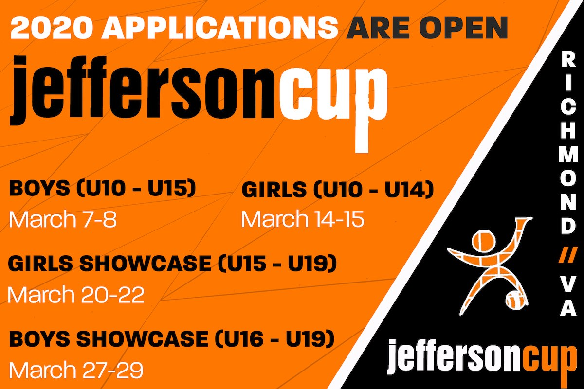 Applications are Open for the 2020 Jefferson Cup!