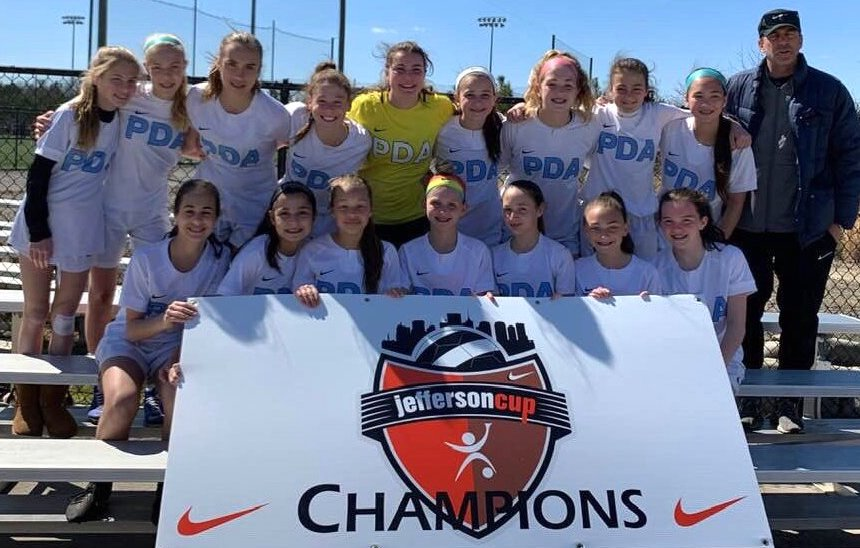 PDA ECNL 06 Blue Wolves begin spring with Jefferson Cup title run