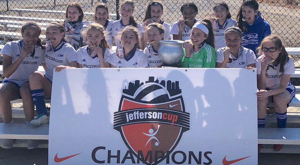 Maryland Rush Montgomery Coyotes win Jeff Cup U-14 top flight